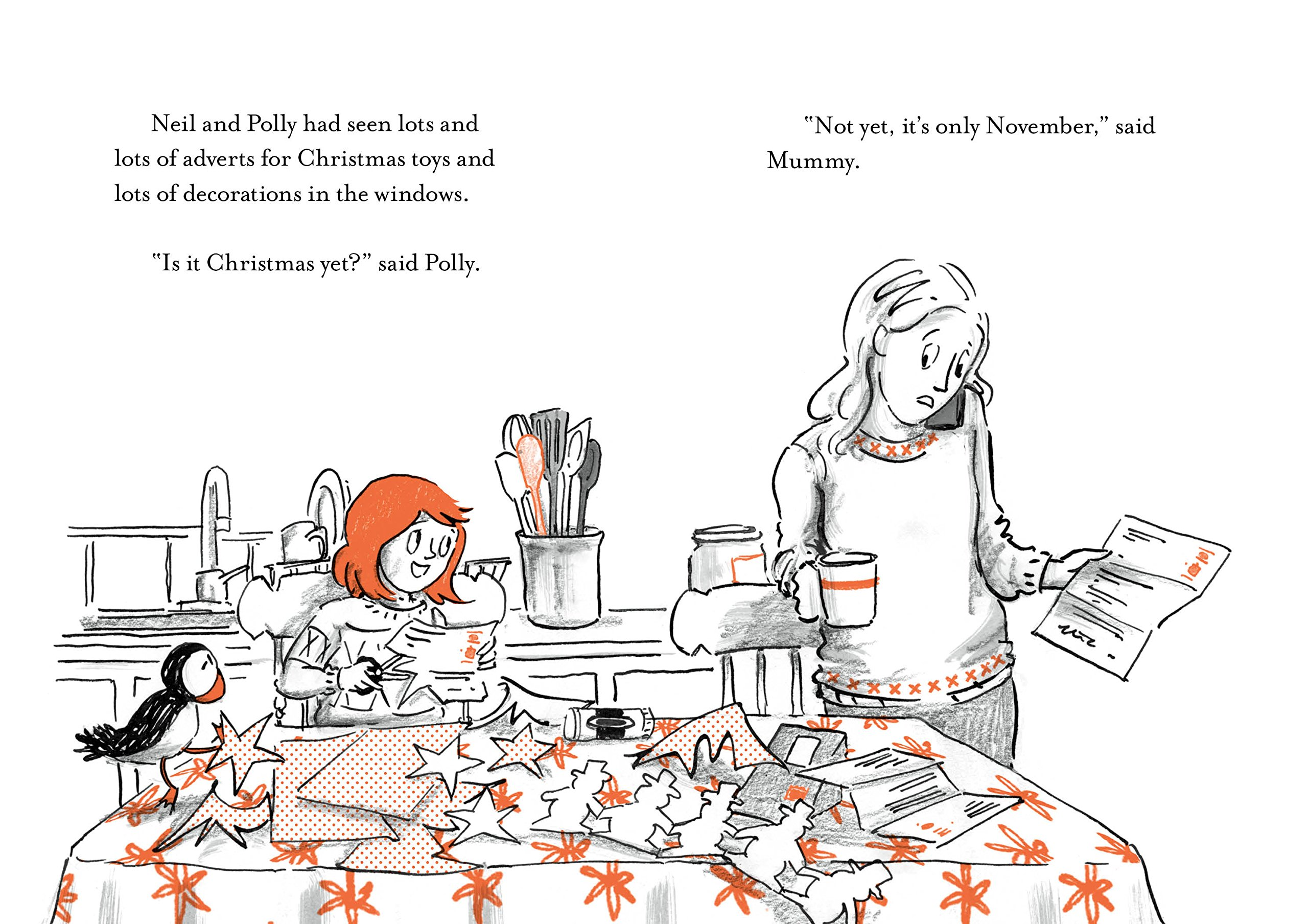 The Happy Christmas: Book 4 (Polly and the Puffin): Amazon.co.uk ...