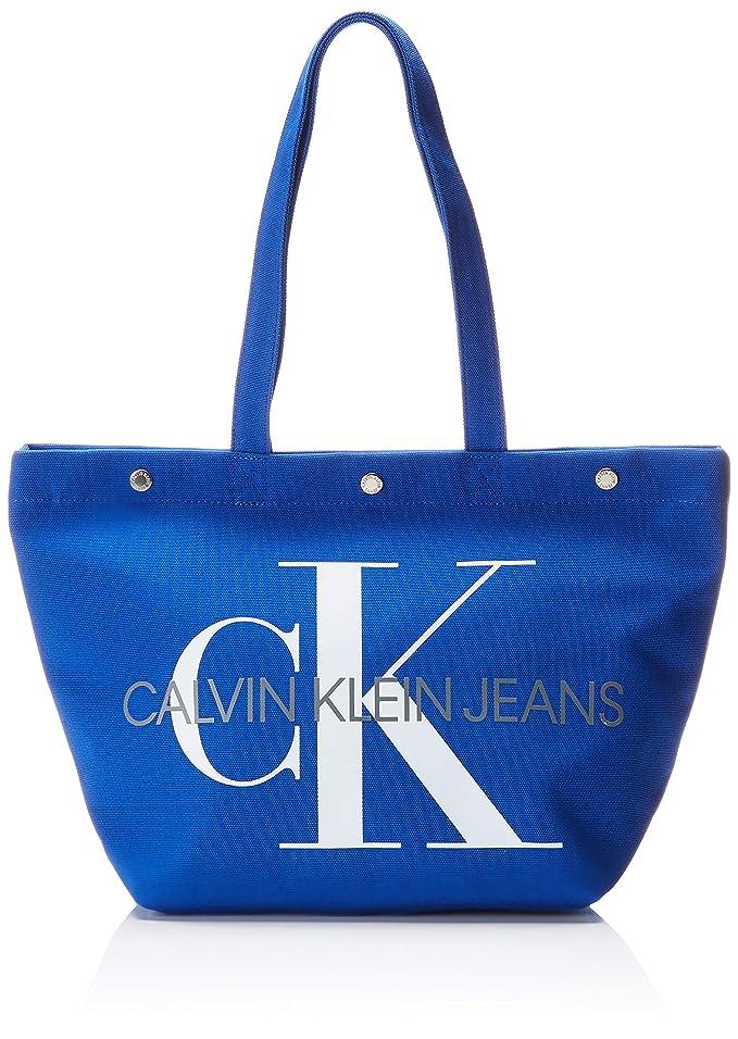 Calvin Klein Canvas Utility Ew Bottom Tote M - Bolsos totes Mujer