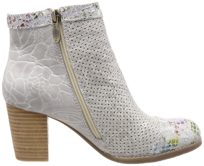 Laura Vita Anna 138, Chelsea Boots Femme, Vert (Kaki Kaki), 39 EU