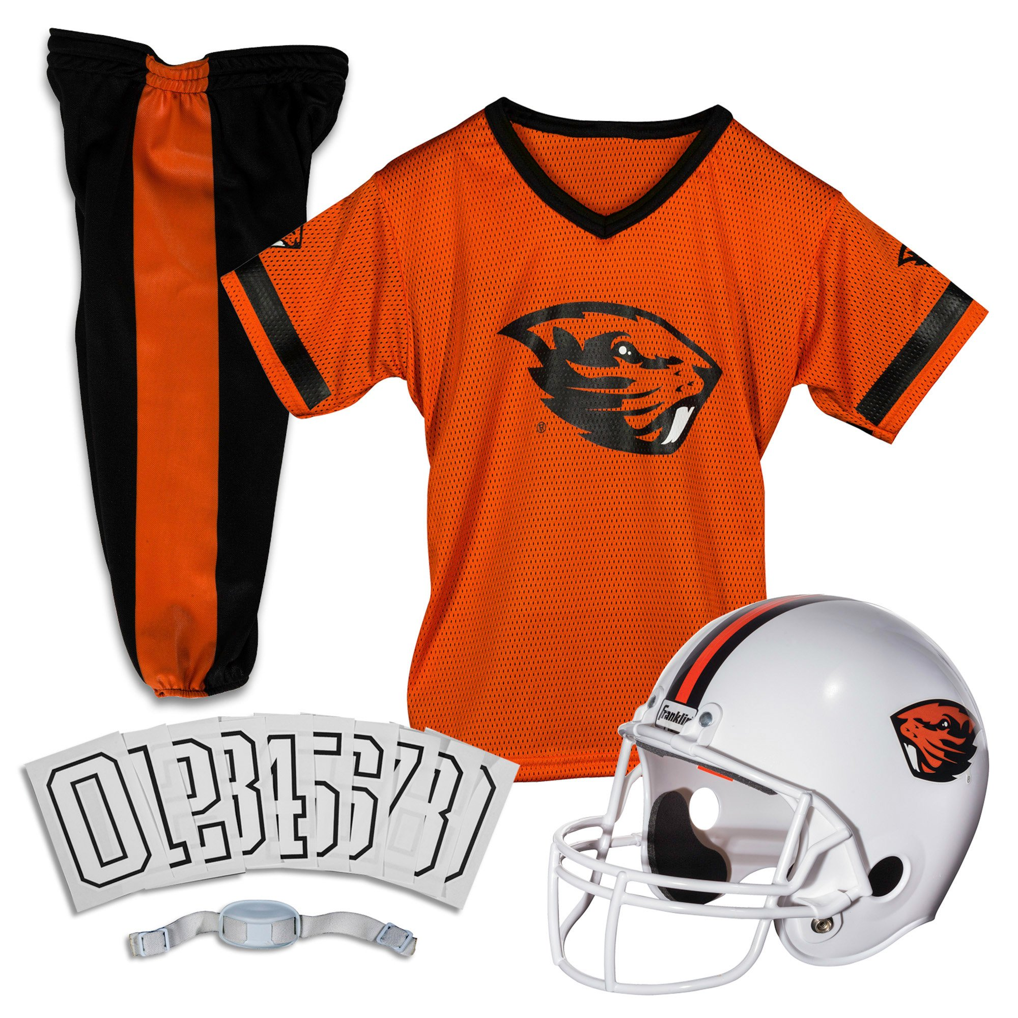 Franklin Sports NCAA Oregon State Beavers Deluxe Youth Team Uniform Set, Medium