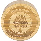 amapodo Bambus Ersatz-Deckel Verschluss für Trinkflasche, Glasflasche, Teekanne