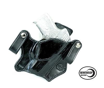 Ruger SR9C IWB Dual Snaps Holster R/H Black 0066