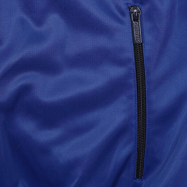Geschenk f/ür Fu/ßballfans Jungen Trainingsjacke im Retro-Design Chelsea FC Offizielles Merchandise