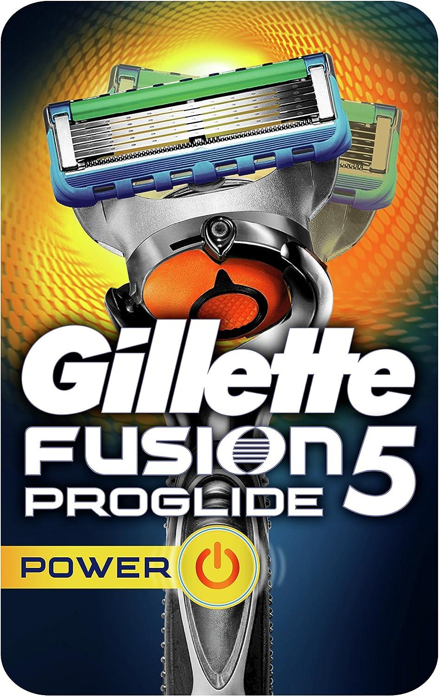 Gillette Fusion 5 ProGlide Maquinilla de afeitar con tecnología Flexball - El empaque puede variar