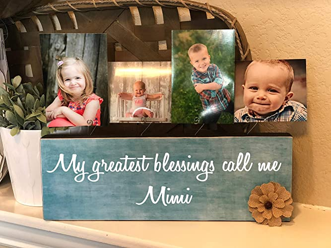 Amazoncom My Greatest Blessings Call Me Mimi Mimi Personalized