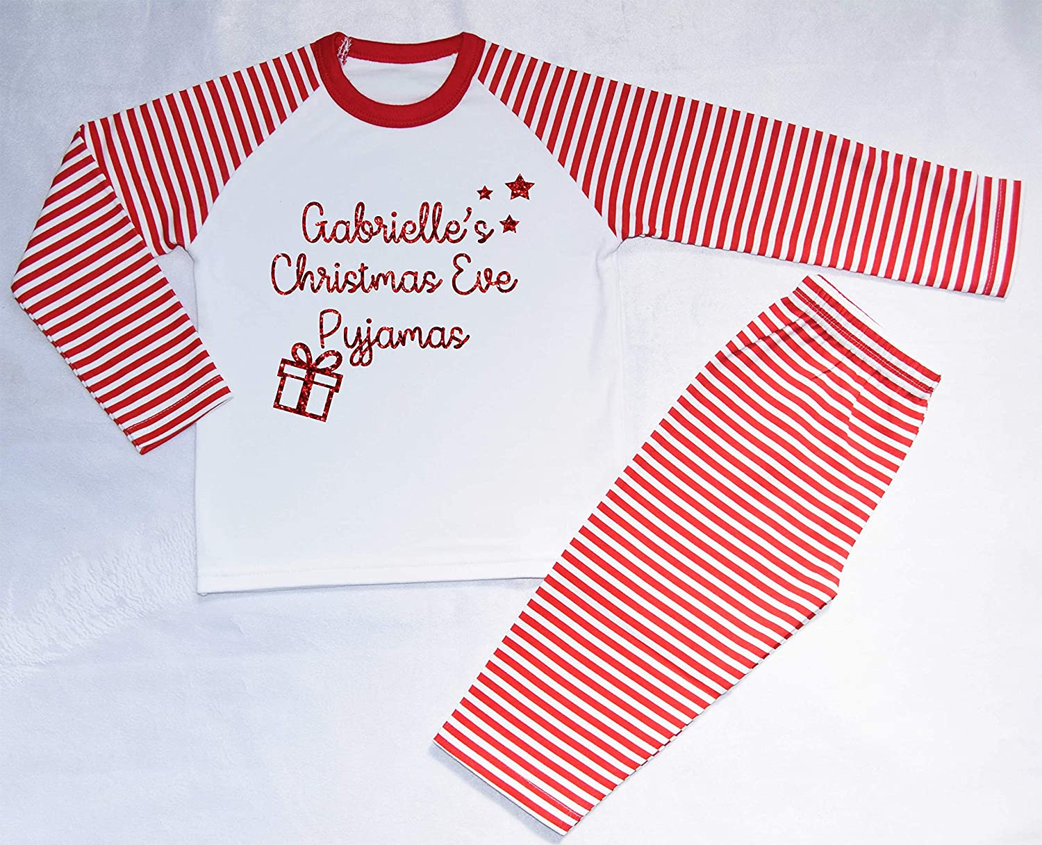 Personalised Name Christmas Eve Pyjamas 2018 Christmas Pyjamas ...