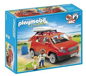 Playmobil Vacaciones Coche Familiar 5436 Amazon Es Juguetes Y