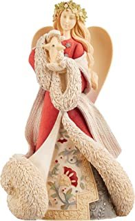 Amazon.com: Enesco Heart of Christmas Deluxe Santa Masterpiece ...