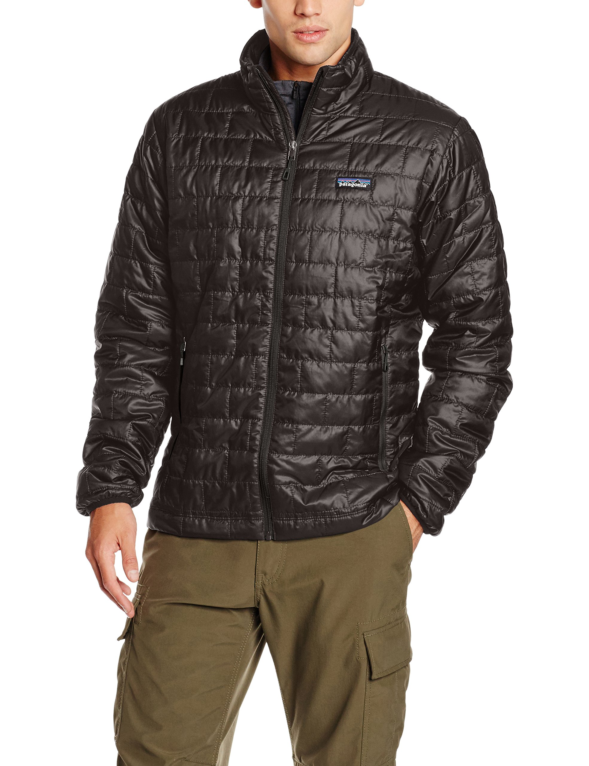 Patagonia Nano Puff Insulated Jacket (Medium, Black) by Patagonia
