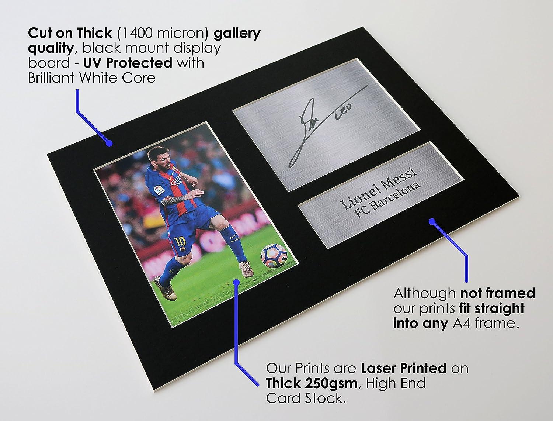 HWC Trading Jurgen Klopp A4 Incorniciato Firmato Regalo Visualizzazione delle Foto Print Immagine Autografo Stampato per Liverpool Tifosi di Calcio