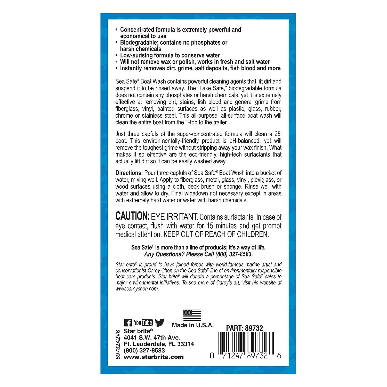 Amazon Star brite Sea Safe Biodegradable Boat Wash Soap 32
