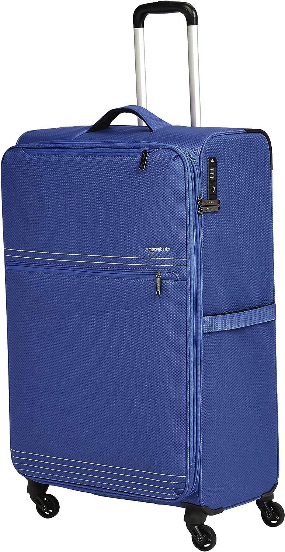 AmazonBasics Lightweight Softside Spinner Suitcase Luggage