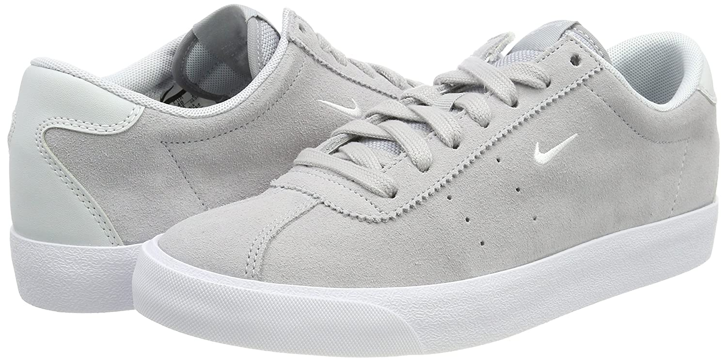 big sale 35c32 30395 Nike Men s Match Classic Suede Low-Top Sneakers, Grey (Armory Navy-Blue  Jay), 6 UK  Amazon.co.uk  Shoes   Bags