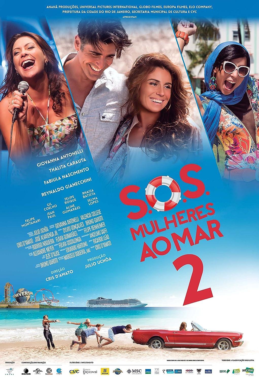 Amazon.com: DVD SOS Mulheres Ao Mar 2 [ Subtitles in English + Spanish + Portuguese ]: EMANUELLE ARAúJO, FABIULA NASCIMENTO, GIOVANNA ANTONELLI, ...
