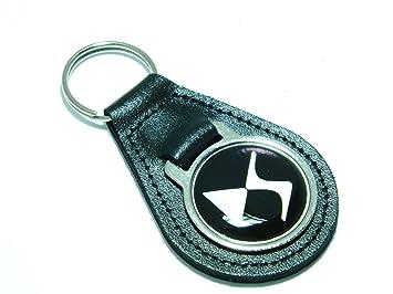 Citroën DS llavero calidad negro llavero de cuero: Amazon.es ...