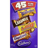 Cadbury Fun Treats Chocolate, 45 Count
