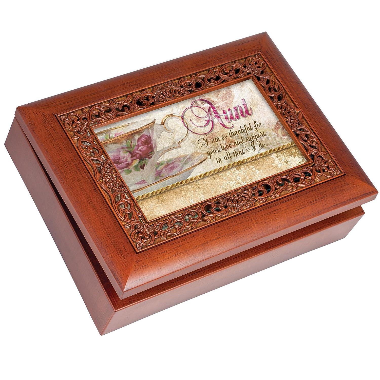 注目の Cottage Garden You B00BRXA9G4 Aunt Light Ornate Woodgrain Music Box/ Jewellery Box Plays You Light Up My Life B00BRXA9G4, 石井町:bce1c600 --- arcego.dominiotemporario.com