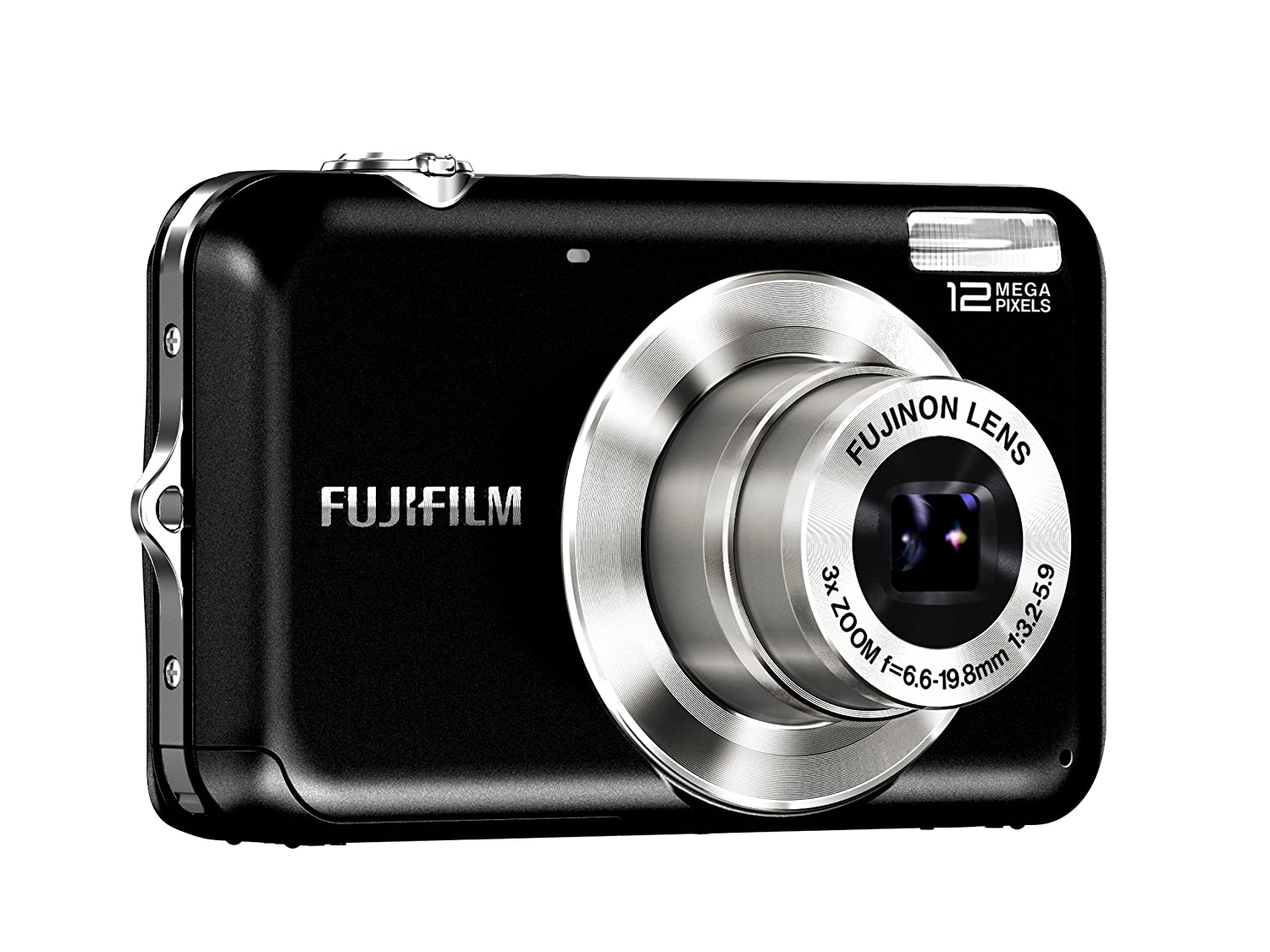 Amazon.com : Fujifilm FinePix JV100 12 MP Digital Camera with 3x Optical  Zoom and 2.7inch LCD (Black) : Point And Shoot Digital Cameras : Camera &  Photo