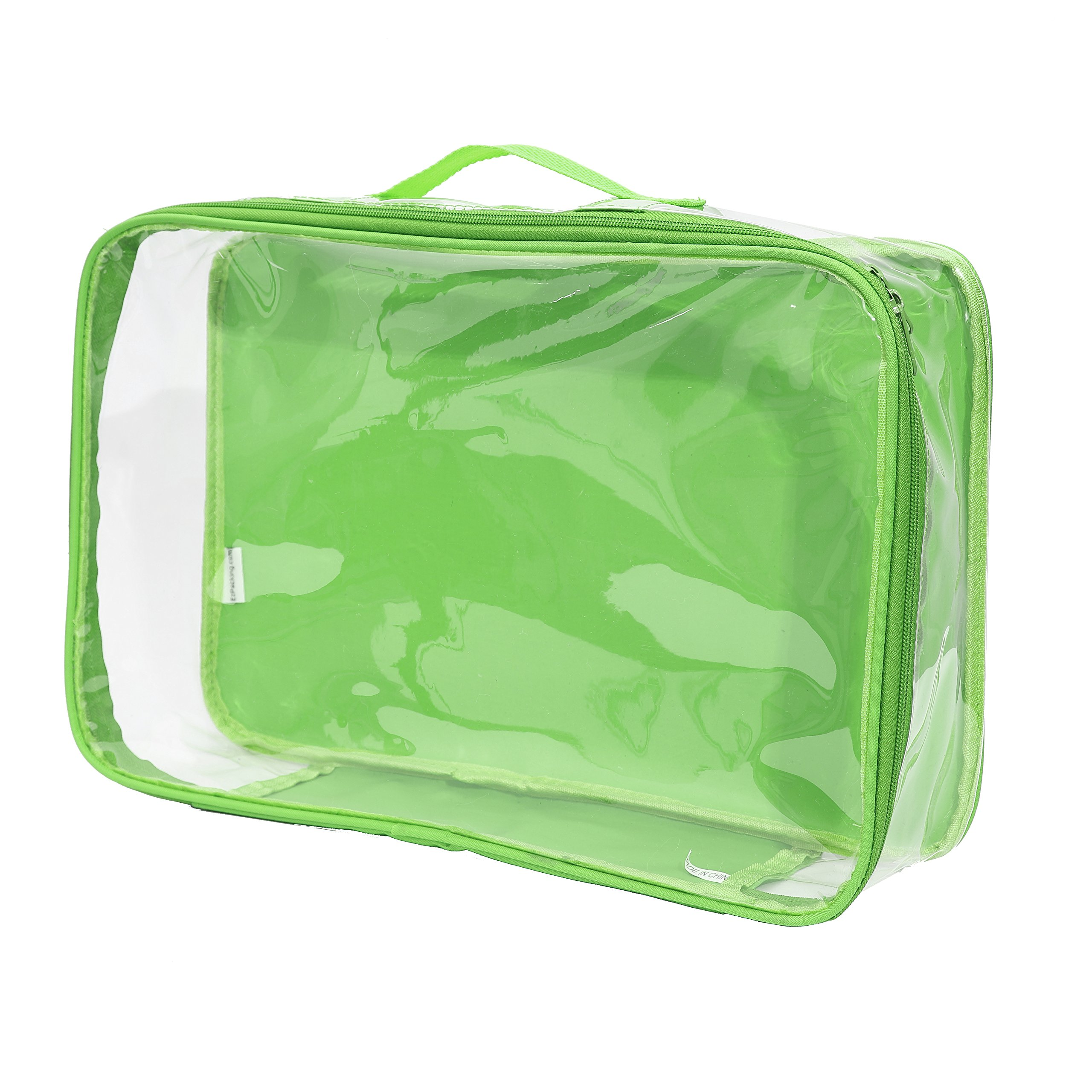 Large Packing Cube/Perfect for Packing Clothes Into Suitcase Or Closet for Moth Protection (Green)