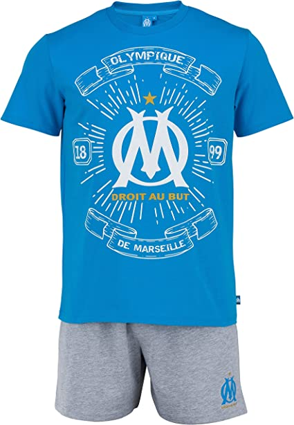 Collection Officielle Taille Homme OLYMPIQUE DE MARSEILLE Pyjashort Om