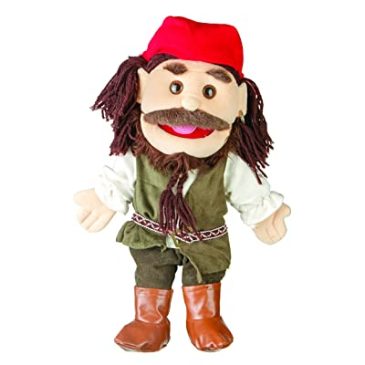 """Sunny toys 14"""" Pirates Caribbean Glove Puppet: Toys & Games"""