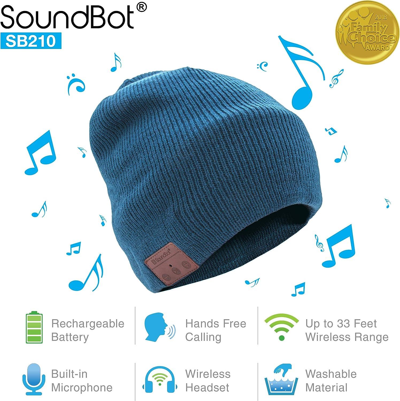 Soundbot SB210无线耳机帽