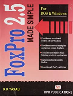 Amazon in: Buy Visual FoxPro Made Simple Book Online at Low