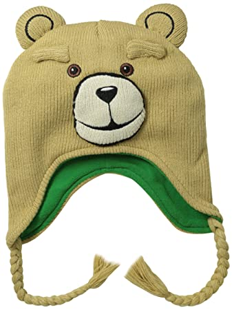 Ted Movie Teddy Bear Peruvian Laplander Beanie Hat  Amazon.co.uk  Toys    Games f06ba1cd422e