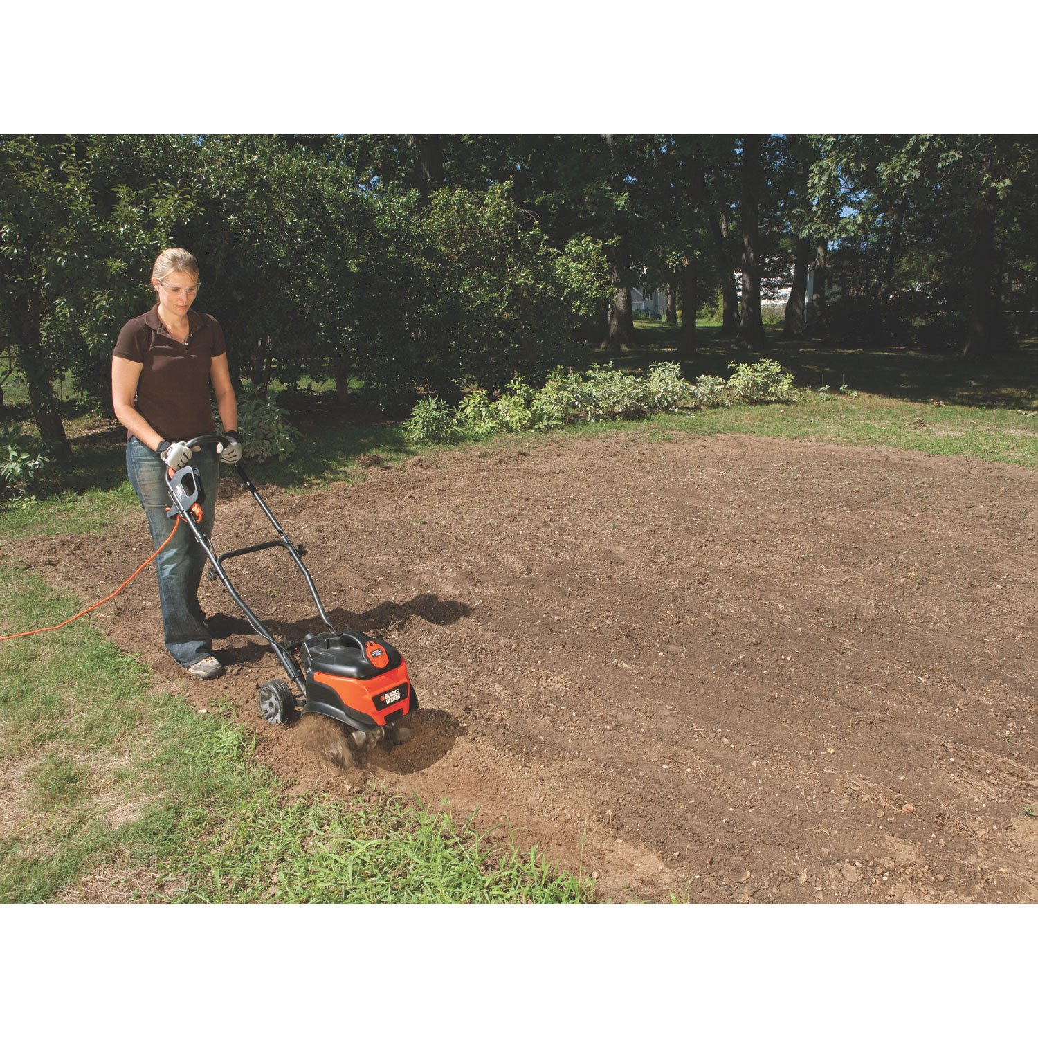 Amazon.com : Black & Decker TL10 8.3 Amp Corded Electric Front Tine ...