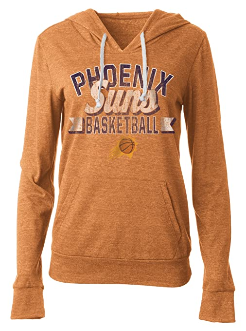 Hoodie Women's Jersey Nba Ocean 5th Natural amp; Blend Tri Large With Suns Pocket Pouch Pullover Phoenix Orange