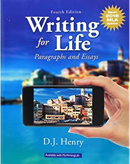 Expository Essay On Sports Writing For Life Paragraphs And Essays Mla Update Th Edition Sites For Essay also Life Philosophy Essay Amazoncom Writing For Life Paragraphs And Essays Th Edition  Help Writing Essays
