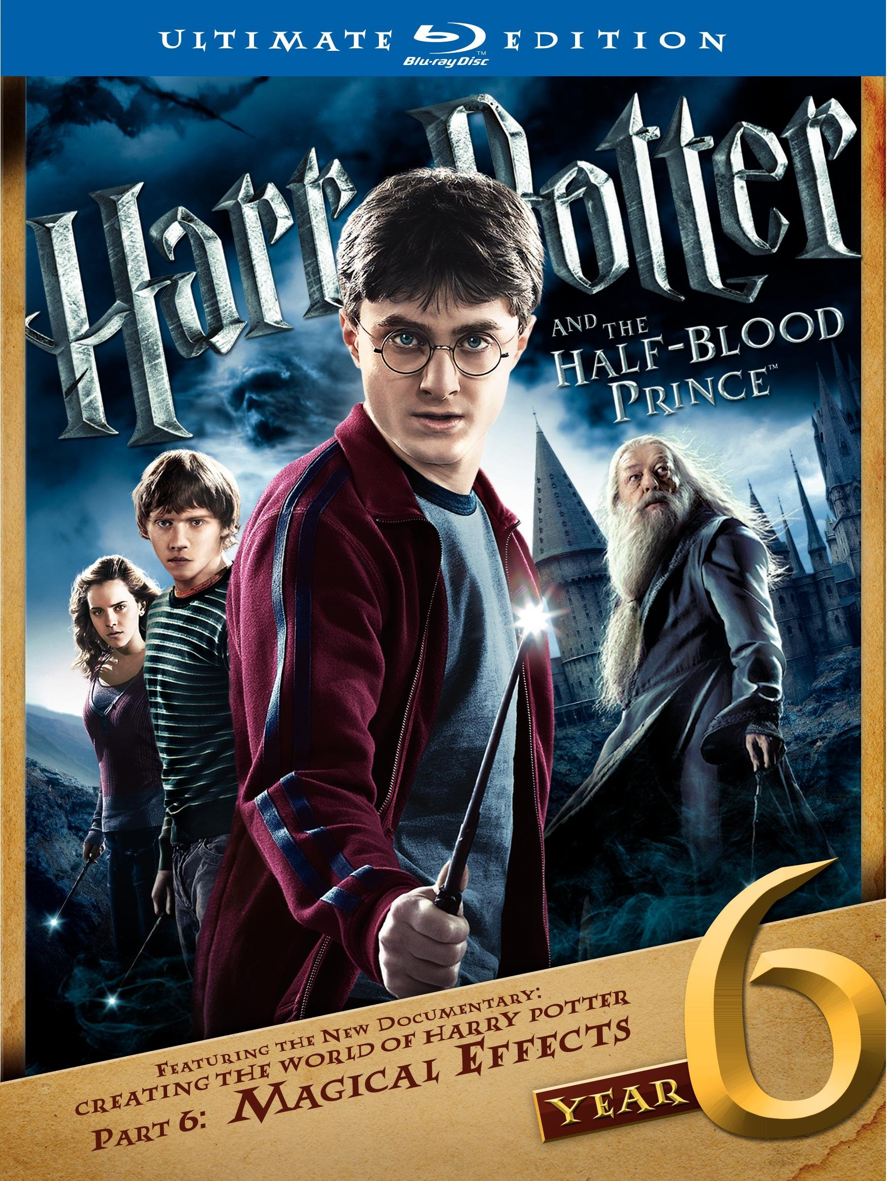 Harry Potter and the Half-Blood Prince (Two-Disc Ultimate Edition) [Blu-ray]