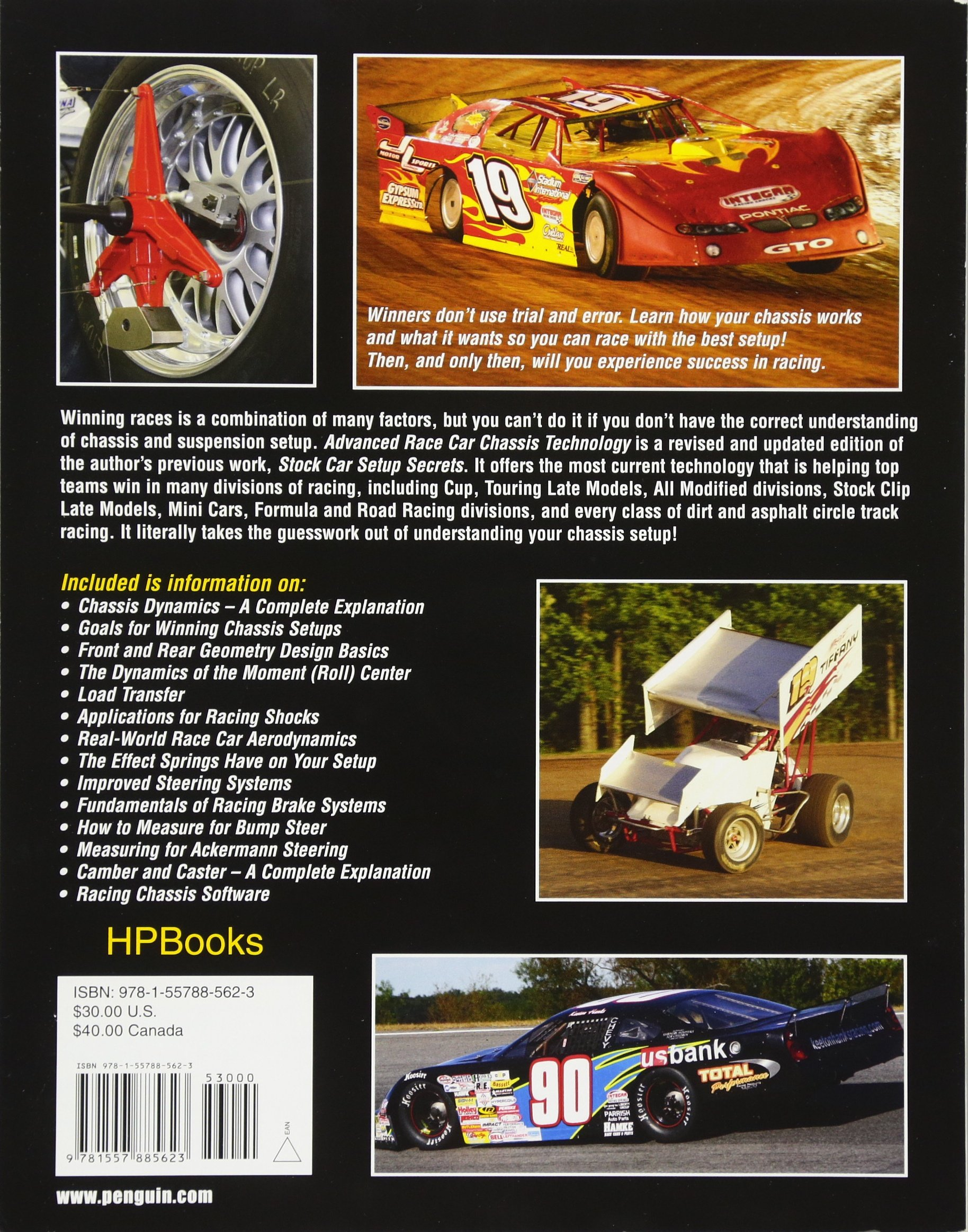 Advanced Race Car Chassis Technology HP1562: Winning Chassis