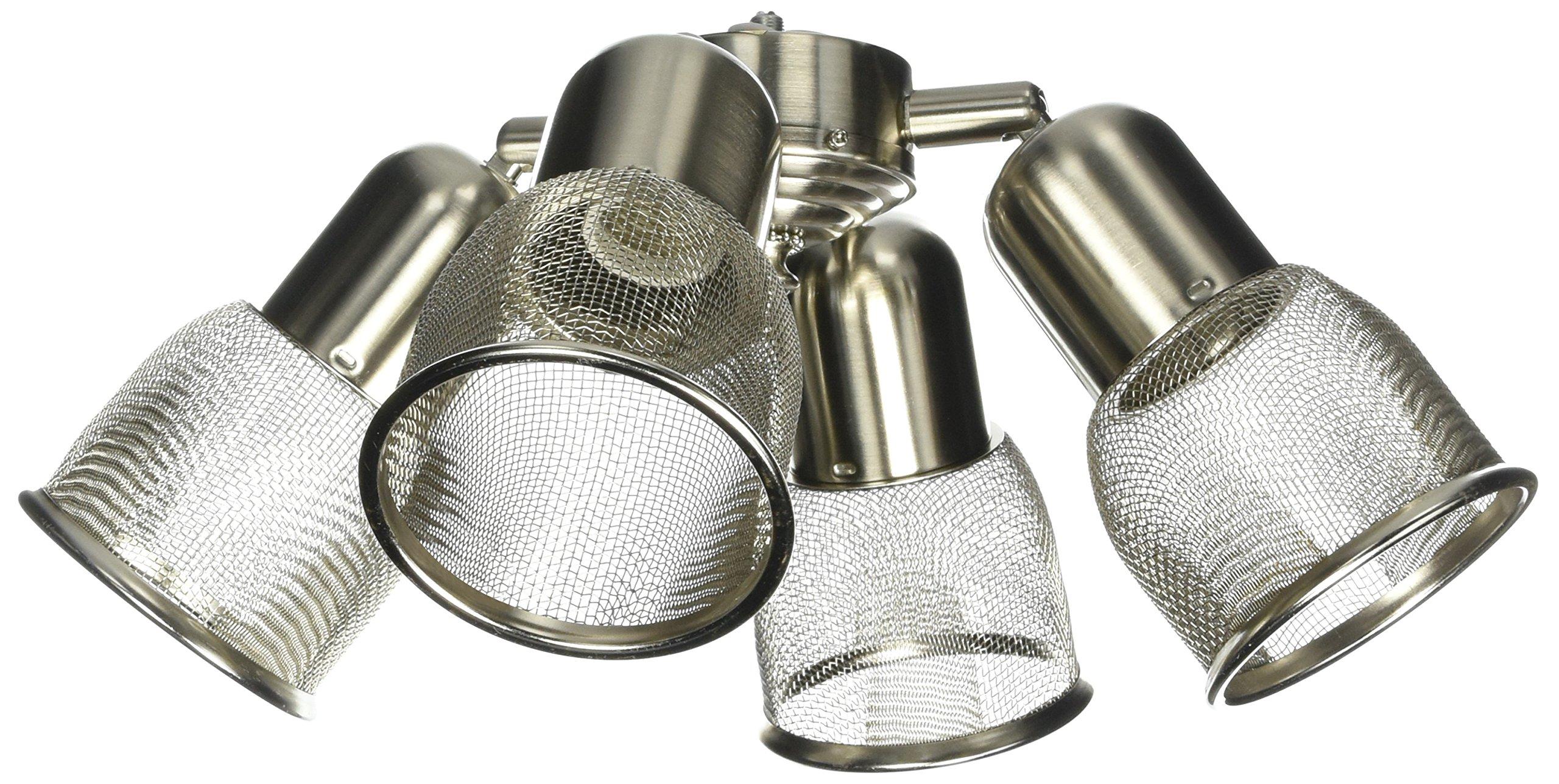 Emerson Ceiling Fans LK36BS 4 Spot Mesh Light Kit for Ceiling Fans