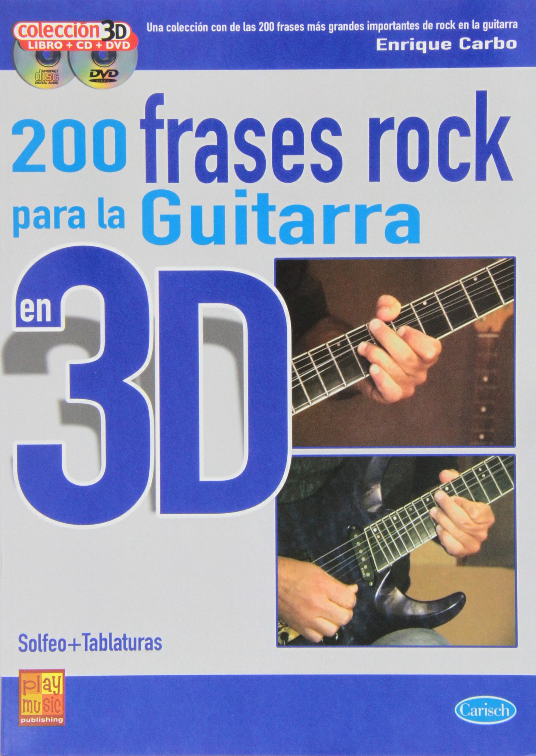 Download CARBO - Frases de Rock (200) para Guitarra en 3D (Inc.CD y DVD) PDF
