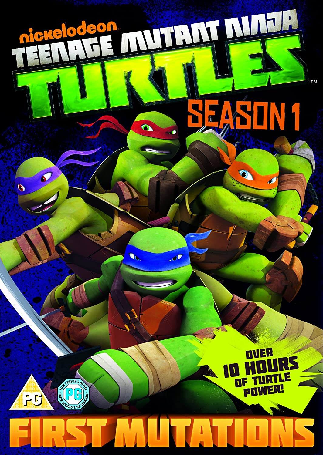 TEENAGE MUTANT NINJA TURTLES-COMPLETE SEASONS 1-4 TEENAGE ...
