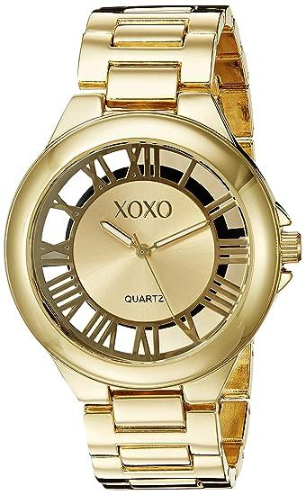XOXO Womens XO270 Gold-Tone Watch