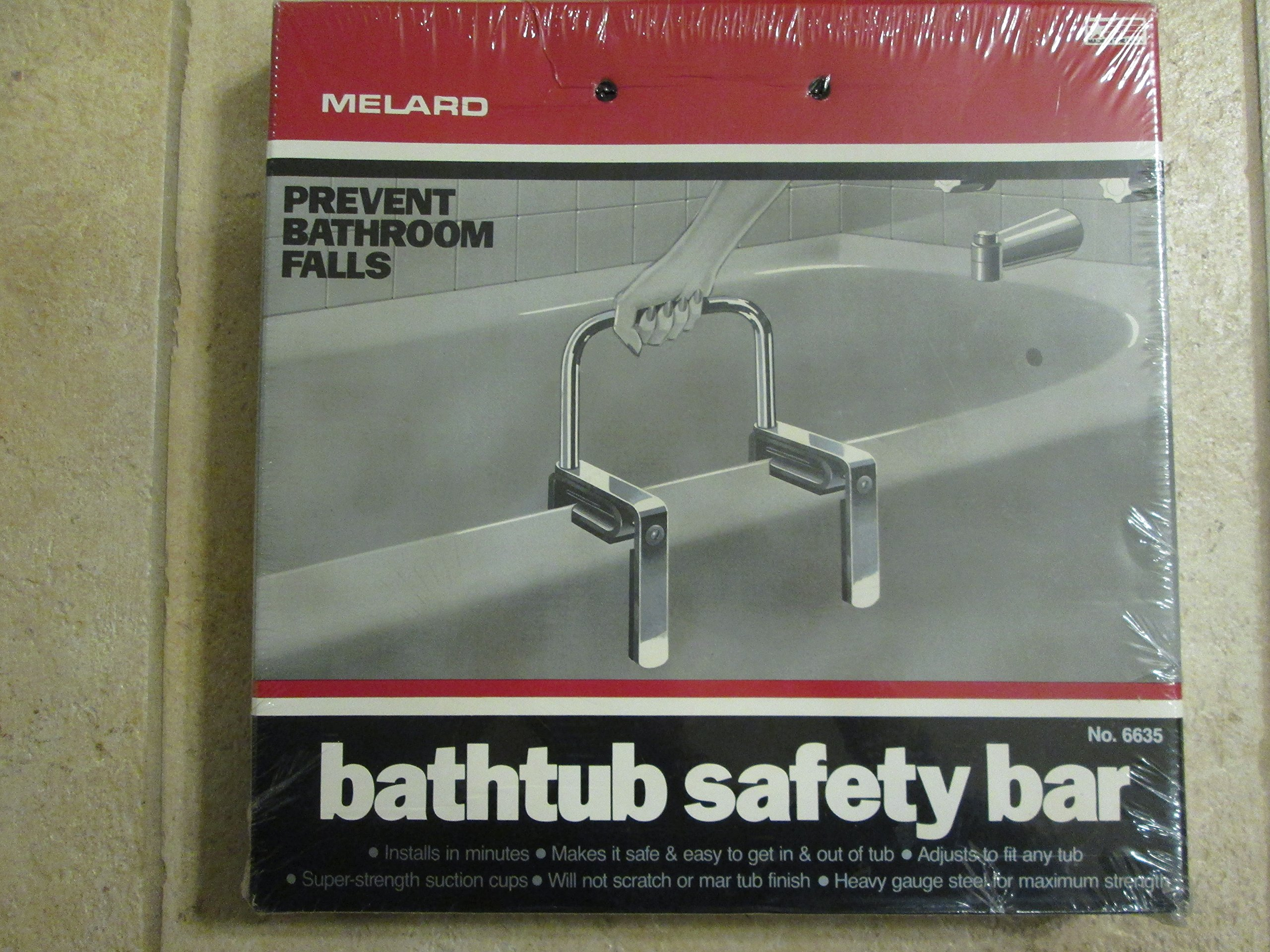 Bathtub Safety Bar by Melard Bathtub Safety Bar