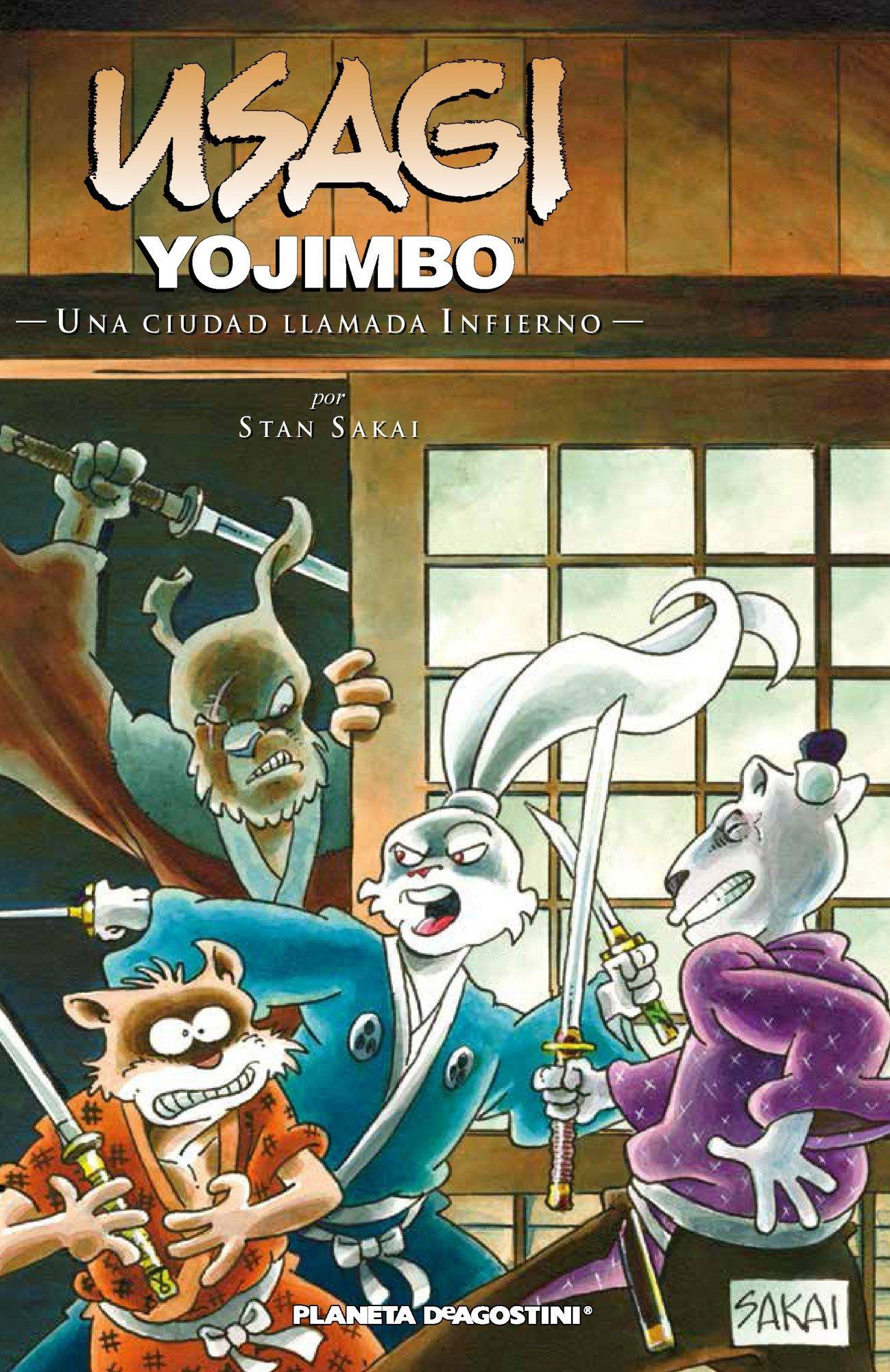 Usagi Yojimbo nº 27: Una ciudad llamada infierno ...