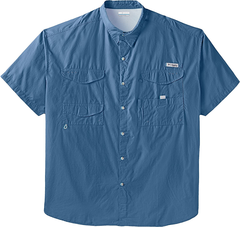 Columbia Womens PFG Bonehead Stretch Long Sleeve Fishing Shirt Cotton Blend