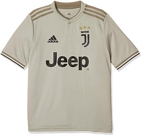 adidas Juventus Away, Camiseta niño, Sesame/Clay, 7-8A