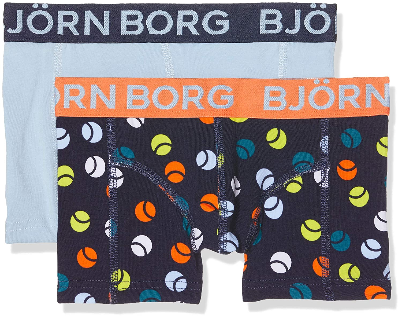 klassieke stijl meerdere kleuren laag geprijsd Bjorn Borg Boy's Shorts BB Tennisball 2p Boxer (Blue Peacoat ...