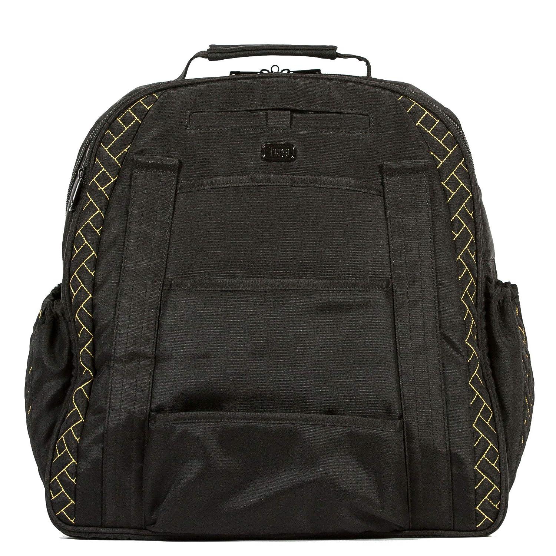 Brushed Black Lug Sprout Overnight Bag One Size Model: Sprout-Brushed Black