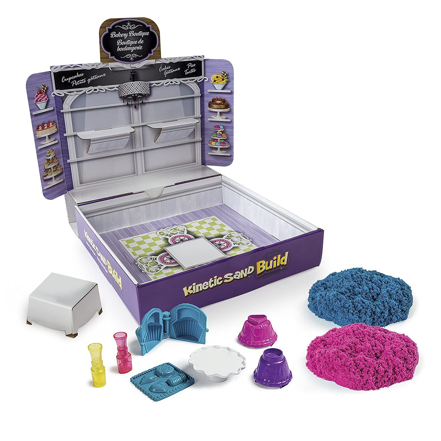 Styles Vary Bakery Boutique Kinetic Sand Build Spin Master 6027479