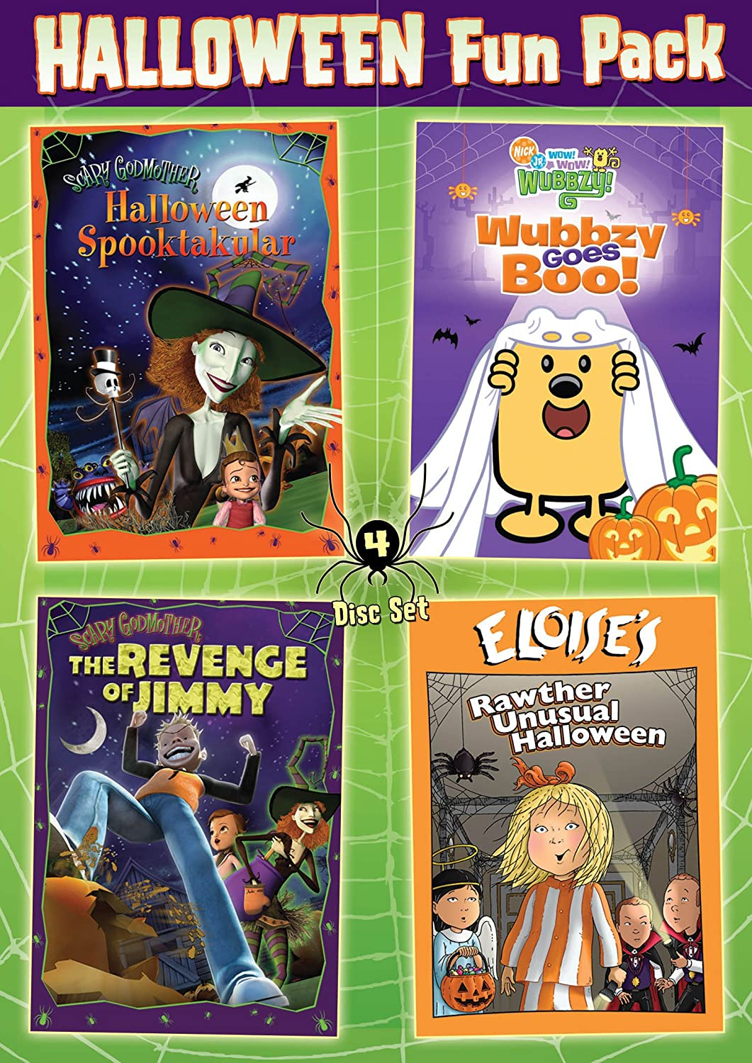 amazoncom kids halloween 4 dvd set not available movies tv