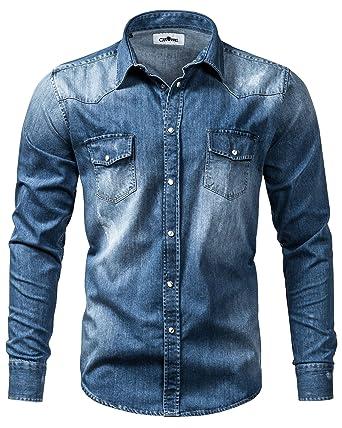 Crone - Camisa casual - para hombre