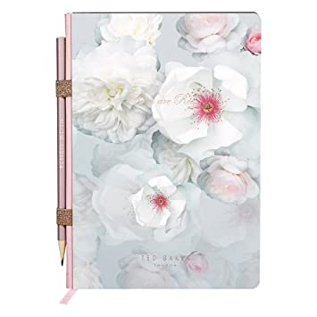 496e9c411a45 Ted Baker A5 Notebook with Pencil