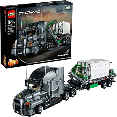 LEGO Technic Mack Anthem 42078 Semi Truck Building Kit and Engineering Toy for Kids and Teenagers, Top Gifts for Boys (2595 Pieces): Toys & Games