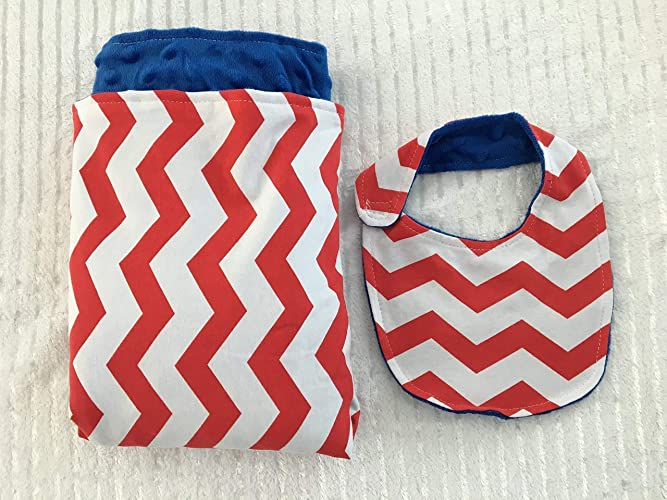 Custom Blanket- Applique Baby Blanket Personalized Baby Blanket-Bear Baby Blanket Chevron Minky Blanket