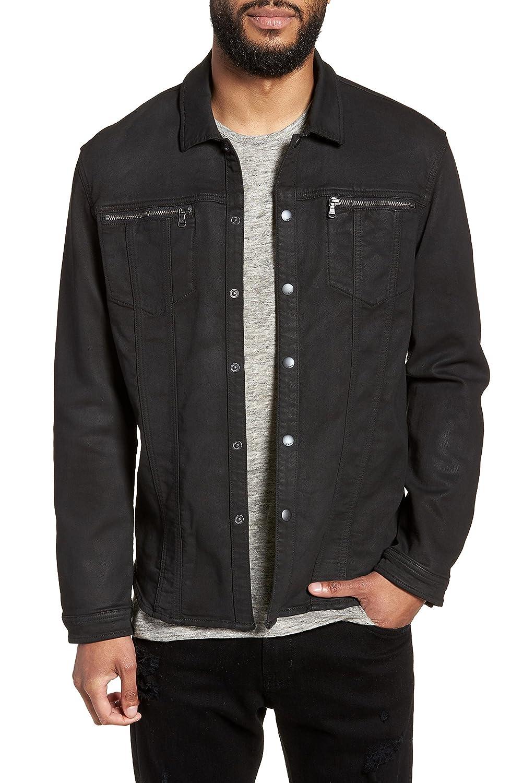 [ジョンバルベイトス スター ユーエスエー] メンズ ジャケットブルゾン John Varvatos x Nick Jonas Knit Jacket [並行輸入品] B07BVT8LC6 Large
